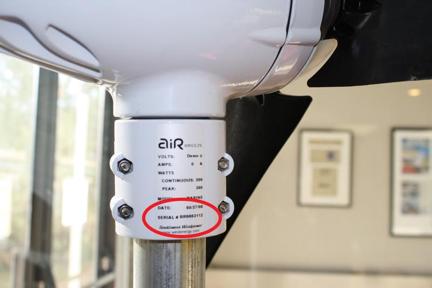 AirBreeze Stator for Air Breeze wind generator